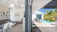 fabulous poolside of Saint Barth Villa Starfish luxury holiday home, vacation rental