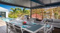 cool lanai of Saint Barth Villa Starfish luxury holiday home, vacation rental
