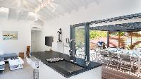 nice kitchen of Saint Barth Villa Starfish luxury holiday home, vacation rental