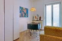 cool access to the balcony of Milan - Via Pola Charming 1BR luxury apartment