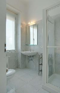 fresh and clean bathroom of Milan - Pergolesi Apartment 10567 luxury home