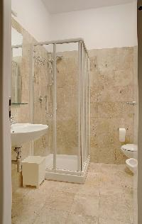 clean and fresh bathroom of Milan - Pergolesi Apartment 10567 luxury home