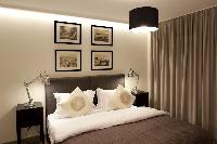 fresh and clean bedroom linens in Istanbul - Gumussuyu Deluxe Flat with Balcony luxury apartment