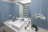 clean and fresh bathroom in Istanbul - Gumussuyu Deluxe Flat with Balcony luxury apartment