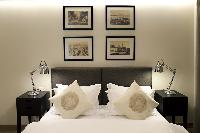 clean and fresh bedroom linens in Istanbul - Gumussuyu Deluxe Flat with Balcony luxury apartment