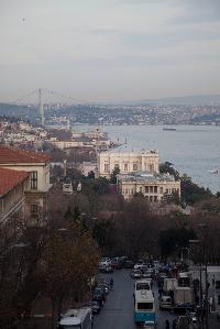 beautiful Deluxe Istanbul Suite with Bosphorus View luxury apartment