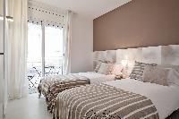 fancy Sitges Sant Sebastiàn Calm Beach 1BR luxury apartment