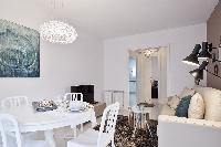 nice Sitges Sant Sebastiàn Calm Beach 1BR luxury apartment