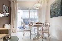 delightful Sitges Sant Sebastiàn Calm Beach 1BR luxury apartment