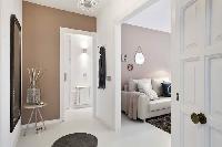 cool Sitges Sant Sebastiàn Calm Beach 1BR luxury apartment