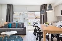 neat Sitges Sant Sebastiàn Calm Beach Penthouse luxury apartment