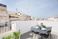 amazing Sitges Sant Sebastiàn Calm Beach Penthouse luxury apartment
