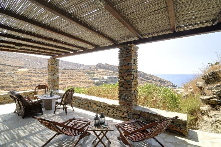 perfect Kea Kastellakia Bay Villa Thymari luxury holiday home, vacation rental