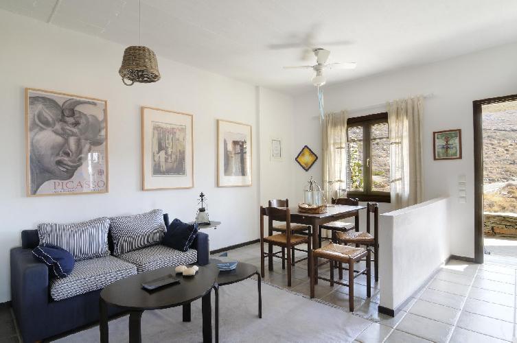 nice Kea Kastellakia Bay Villa Thymari luxury holiday home, vacation rental