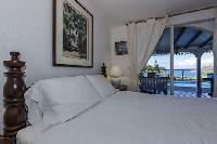 clean bedroom linens in Saint Barth Villa Joe luxury holiday home, vacation rental