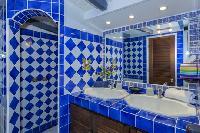 clean bathroom in Saint Barth Villa Joe luxury holiday home, vacation rental