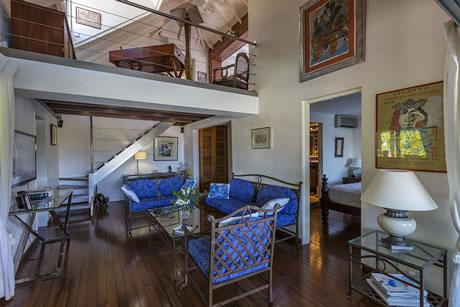 cool multilevel Saint Barth Villa Joe luxury holiday home, vacation rental