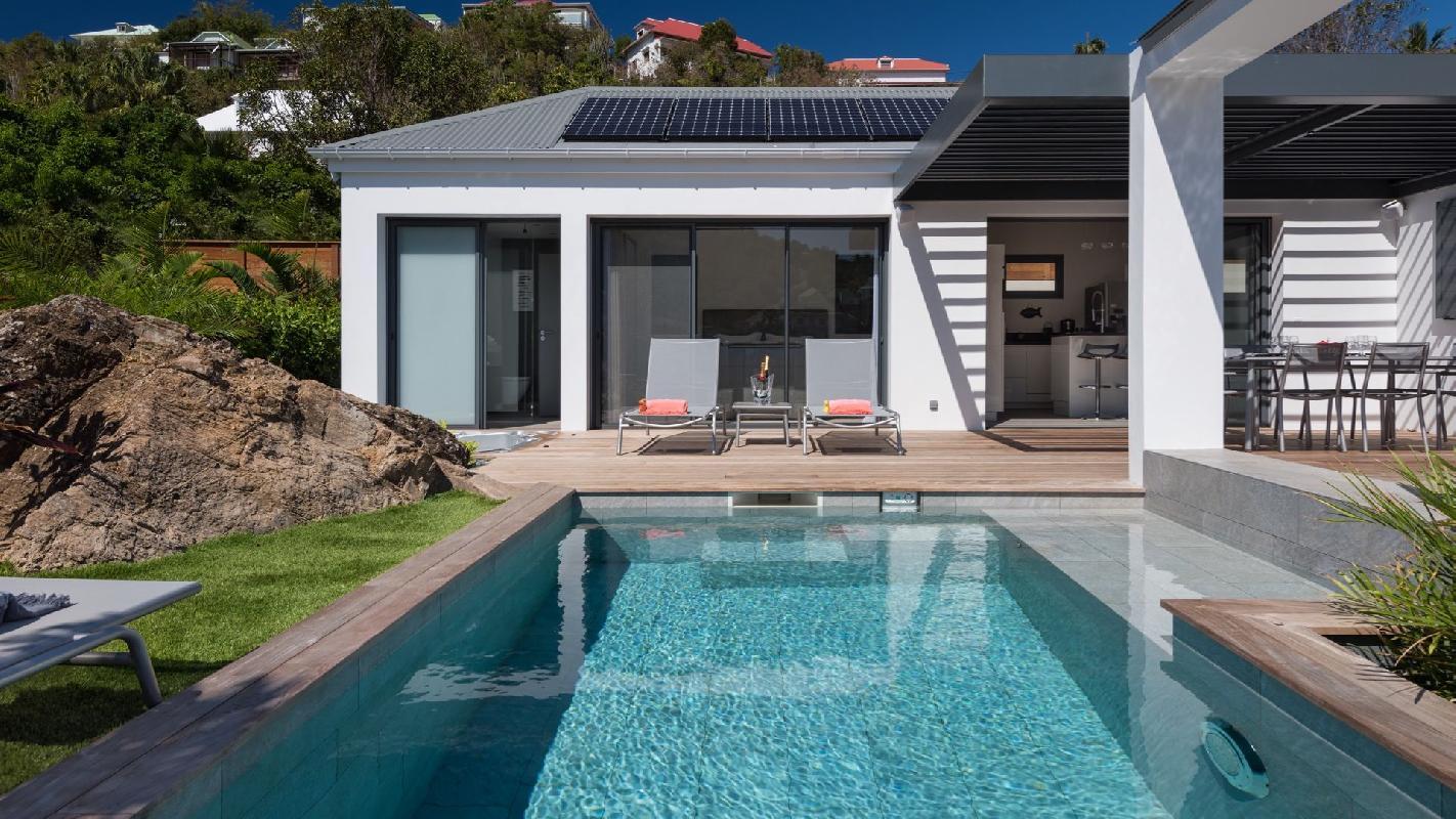 beautiful Saint Barth Villa Rockfish luxury holiday home, vacation rental