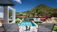 splendid view from Saint Barth Villa Rockfish luxury holiday home, vacation rental