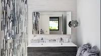 clean bathroom in Saint Barth Villa Rockfish luxury holiday home, vacation rental
