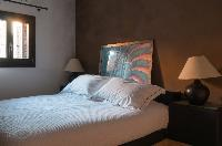 clean bed sheets in Athens Villa De Niro luxury holiday home, vacation rental