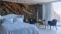 clean bedroom linens in Athens Villa De Niro luxury holiday home, vacation rental