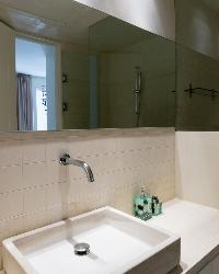 clean bathroom in Athens Villa Romeo luxury holiday home, vacation rental