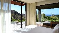 clean bedroom linens in Saint Barth Villa Artepea luxury holiday home, vacation rental
