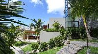 beautiful garden of Saint Barth Villa Artepea luxury holiday home, vacation rental