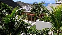 cool garden of Saint Barth Villa Artepea luxury holiday home, vacation rental