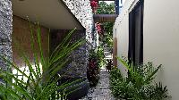 lovely garden of Saint Barth Villa Artepea luxury holiday home, vacation rental
