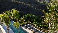 lush garden of Saint Barth Villa Artepea luxury holiday home, vacation rental