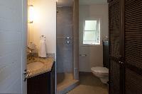 clean bathroom in Saint Barth Villa Belle Bague luxury holiday home, vacation rental