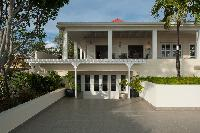 pretty facace of Saint Barth Villa Belle Bague luxury holiday home, vacation rental