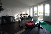 cool gym of Saint Barth Villa Belle Bague luxury holiday home, vacation rental