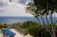 splendid sea view of Saint Barth Villa Belle Bague luxury holiday home, vacation rental