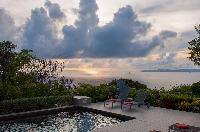 splendid seafront Saint Barth Villa Belle Bague luxury holiday home, vacation rental