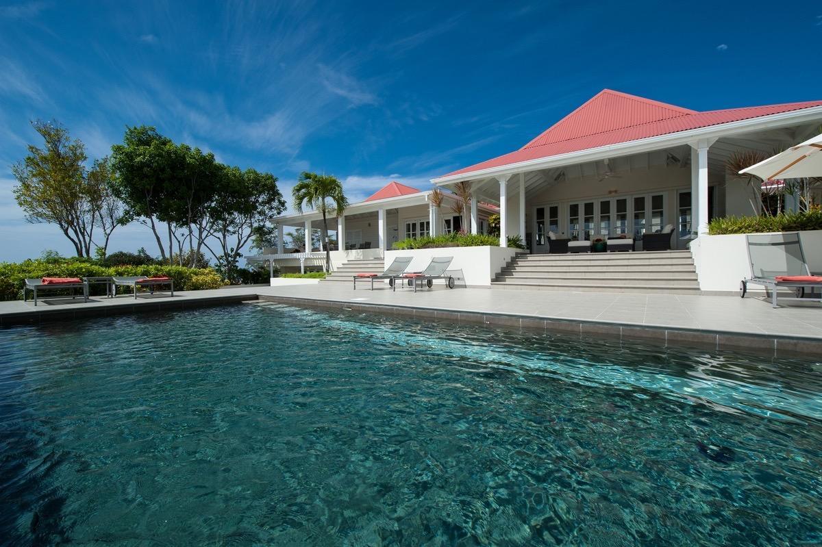 beautiful Saint Barth Villa Belle Bague luxury holiday home, vacation rental