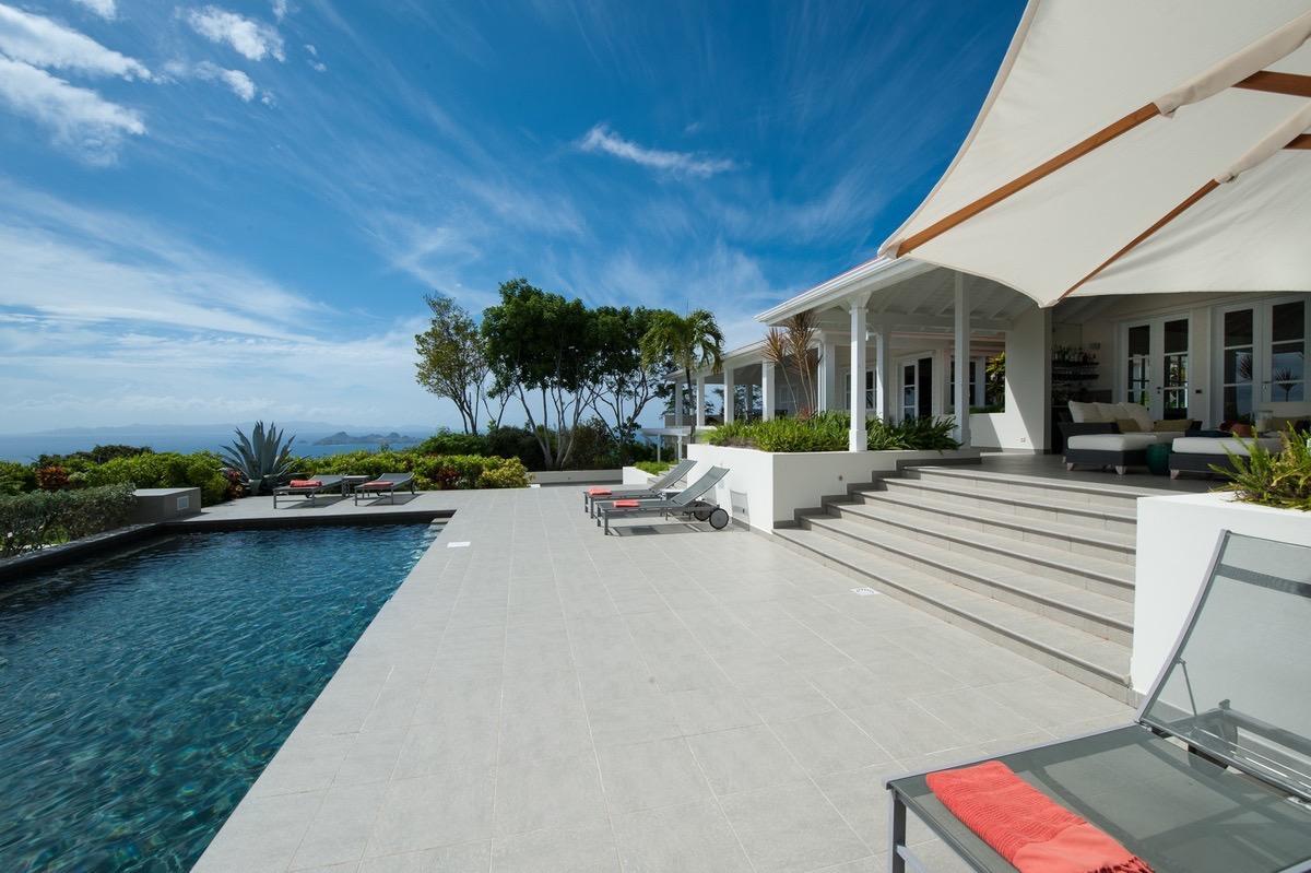 amazing Saint Barth Villa Belle Bague luxury holiday home, vacation rental