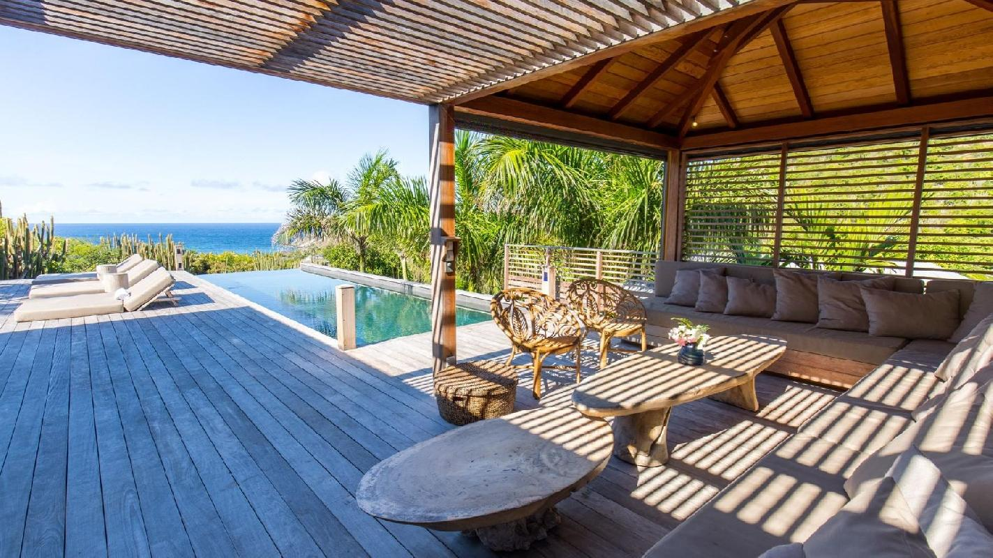 fantastic Saint Barth Villa Coco Rock luxury holiday home, vacation rental