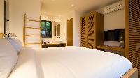 clean bedroom linens in Saint Barth Villa Coco Rock luxury holiday home, vacation rental
