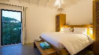 clean bed sheets in Saint Barth Villa Coco Rock luxury holiday home, vacation rental