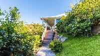 lush garden of Saint Barth Villa Coco Rock luxury holiday home, vacation rental