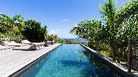 cool swimming pool of Saint Barth Villa Coco Rock luxury holiday home, vacation rental