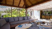 cool lanai of Saint Barth Villa Coco Rock luxury holiday home, vacation rental