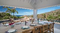beautiful sea view from Saint Barth Villa Coco Rock luxury holiday home, vacation rental