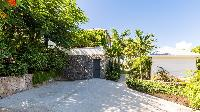 cool surroundings of Saint Barth Villa Coco Rock luxury holiday home, vacation rental