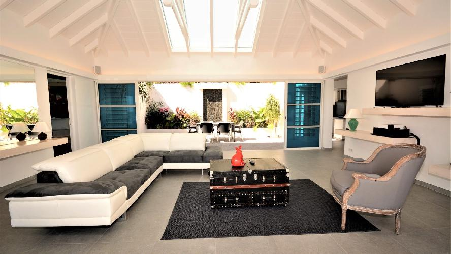 chic Saint Barth Villa Flora luxury holiday home, vacation rental