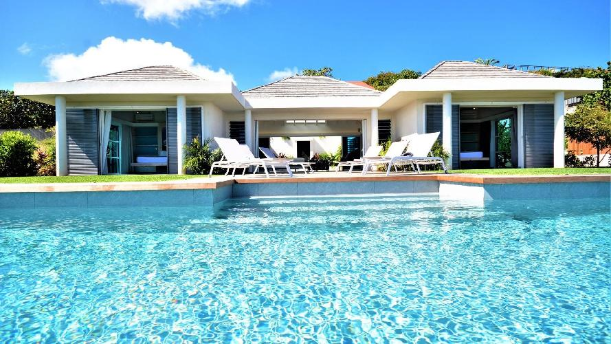 beautiful Saint Barth Villa Flora luxury holiday home, vacation rental