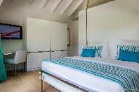 clean bedroom linens in Saint Barth Villa Javacanou luxury holiday home, vacation rental